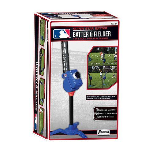 Franklin Sports MLB Batter & Fielder 4-in-1 Multi-Function Trainer