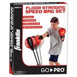 Franklin Sports MMA Youth Floor Standing Speed Bag Set