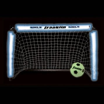 Franklin MLS Light-Up Soccer Goal & Glow-in-the-Dark Ball Set