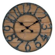 Chaney Rustic Wall Clock