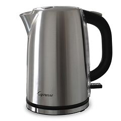 Capresso H2O Stainless Steel 7-Cup Electric Water Kettle