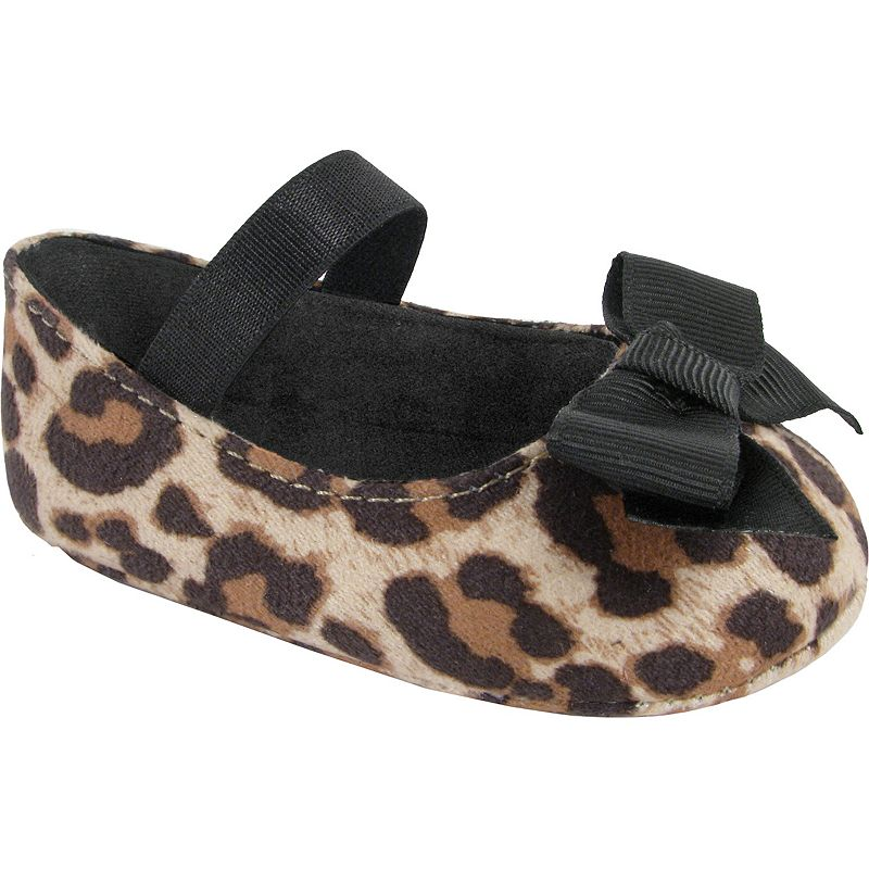 Wee Kids Leopard Print Skimmer Shoes - Baby