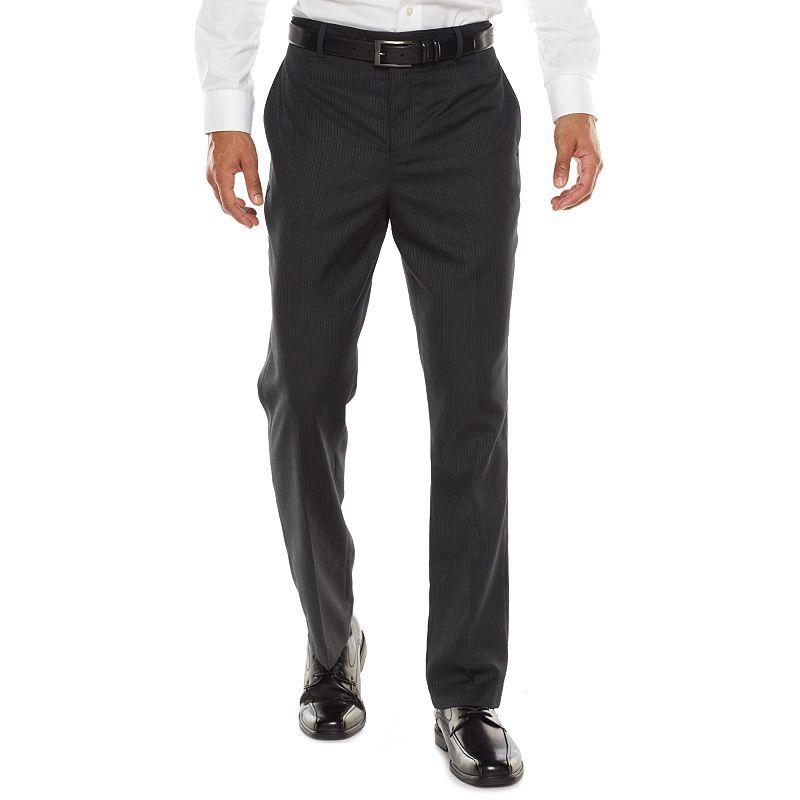 Apt. 9 Extra-Slim Fit Striped Dress Pants - Men