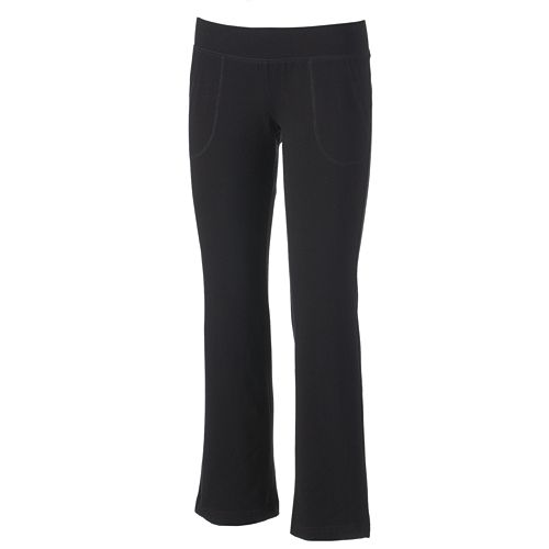 a7d82cb79899c Petite SONOMA Goods for Life™ Solid Yoga Pants