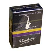 Vandoren Traditional 10 pk#2.5 Alto Saxophone Reeds