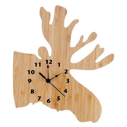 Trend Lab Northwoods Moose Wall Clock