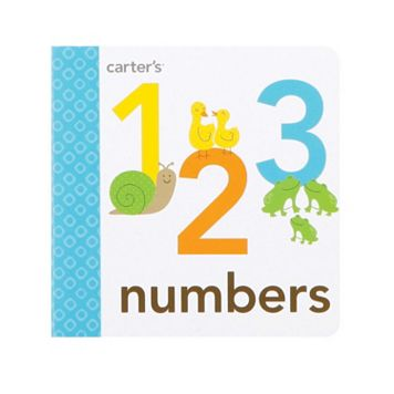 Carter's Numbers Board Book