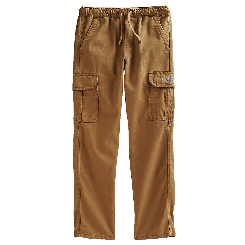 Camo cargo pants for juniors