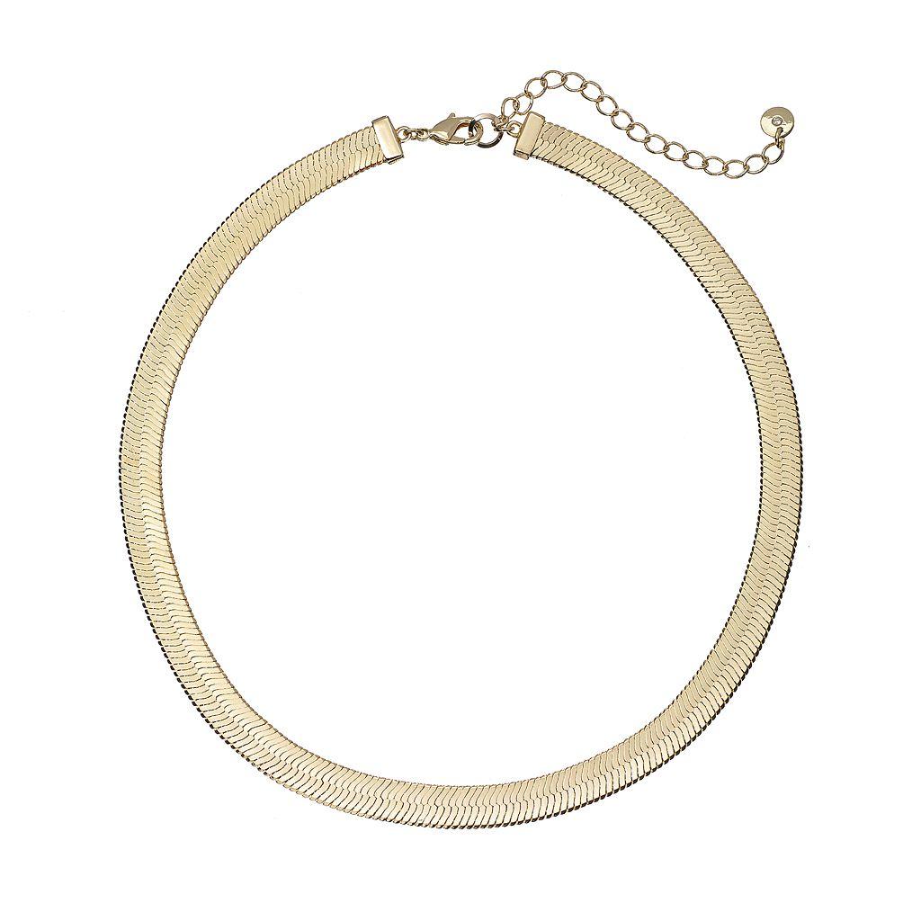 Herringbone Chain Necklace
