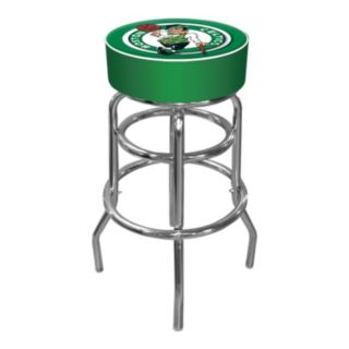 Boston Celtics Padded Swivel Bar Stool