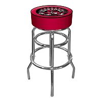 Toronto Raptors Padded Swivel Bar Stool