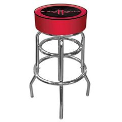 Houston Rockets Padded Swivel Bar Stool