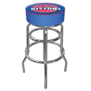 Detroit Pistons Padded Swivel Bar Stool