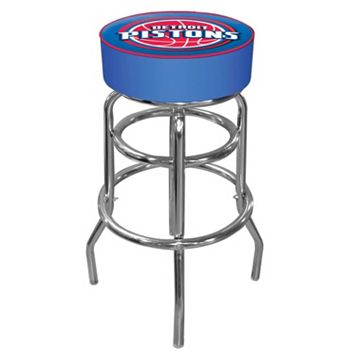 Detroit Pistons Padded Swivel Bar Stool