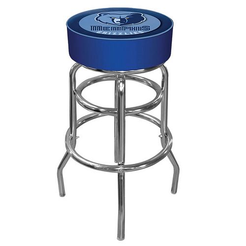 Memphis Grizzlies Padded Swivel Bar Stool