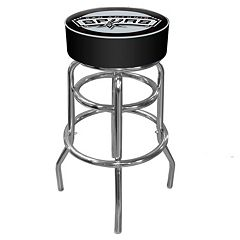 San Antonio Spurs Padded Swivel Bar Stool