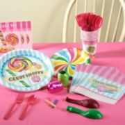 Candy Shoppe Party Supplies for 8