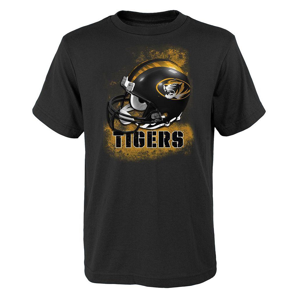 Boys 8-20 Missouri Tigers Helmet Tee