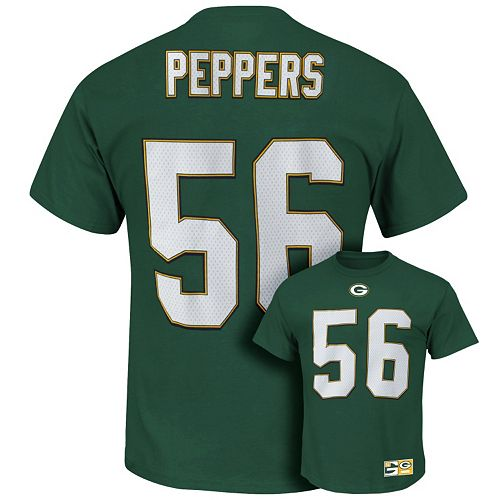 Discount Men's Majestic Green Bay Packers Julius Peppers The Eligible  free shipping