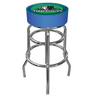Minnesota Timberwolves Padded Swivel Bar Stool