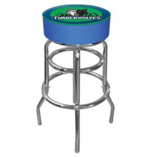 Minnesota Timberwolves Padded Swivel Bar Stool