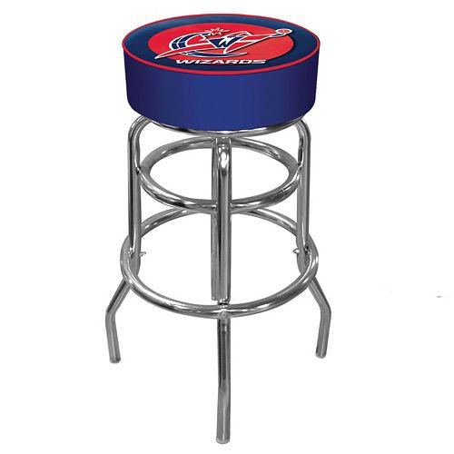 Washington Wizards Padded Swivel Bar Stool