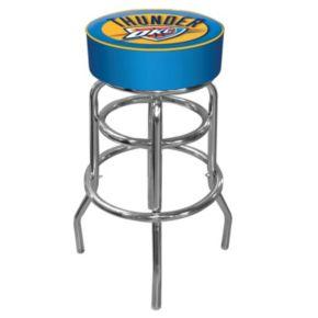 Oklahoma City Thunder Padded Swivel Bar Stool
