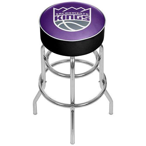 Sacramento Kings Padded Swivel Bar Stool