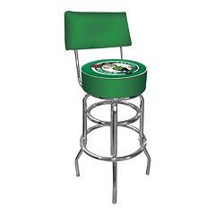 Boston Celtics Padded Swivel Bar Stool with Back