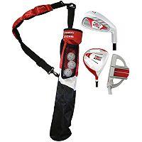 Merchants of Golf Red Zone Jr. 3-Club Right Hand Golf Club & Bag Set - Youth