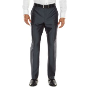 Men's Apt. 9® Extra-Slim Herringbone Blue Suit Pants