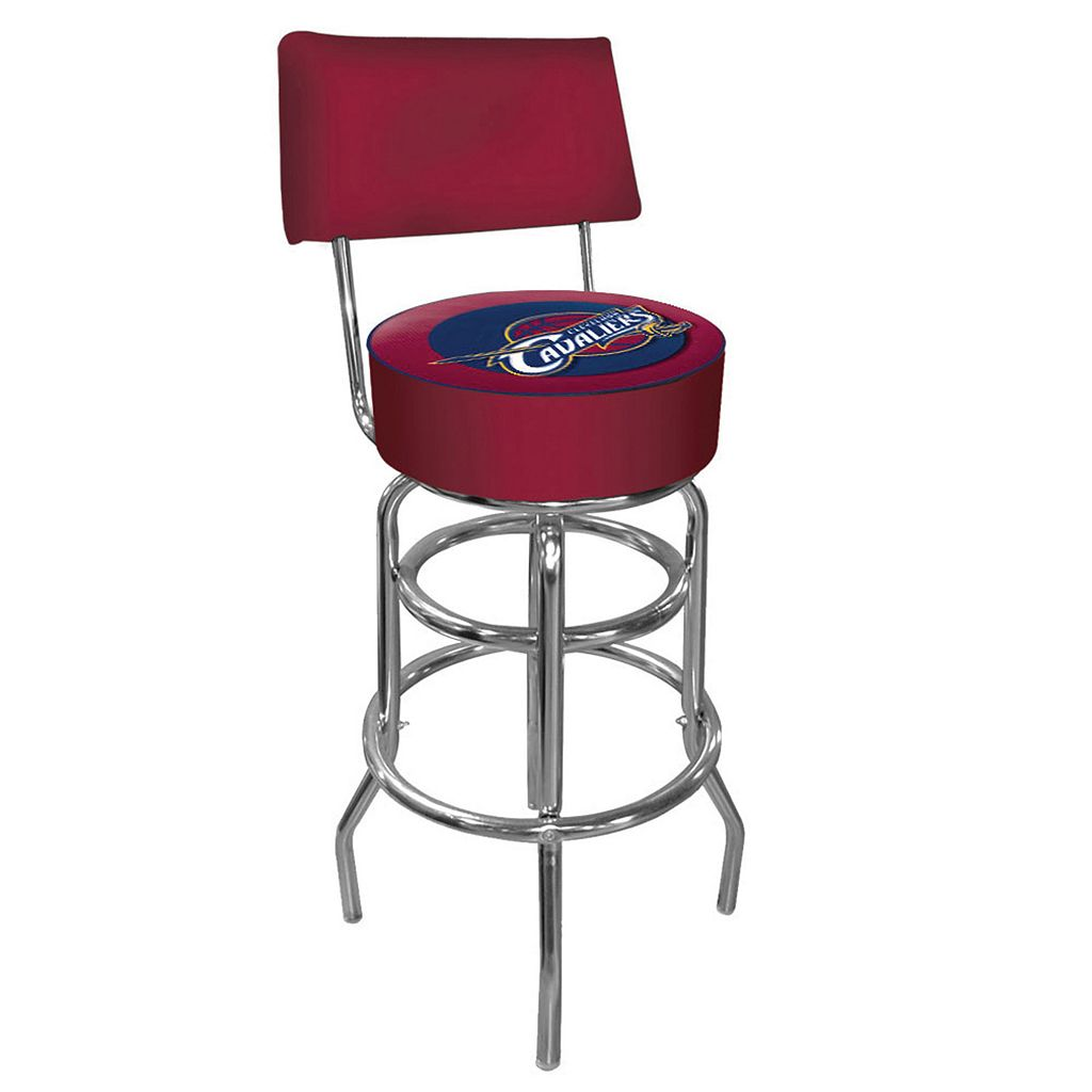 Cleveland Cavaliers Padded Swivel Bar Stool with Back