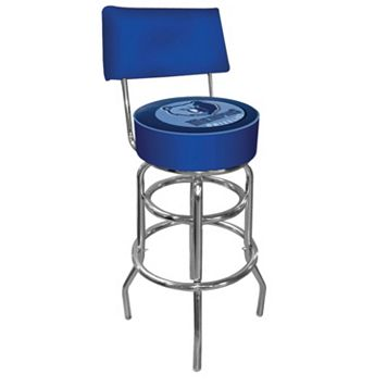 Memphis Grizzlies Padded Swivel Bar Stool with Back