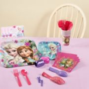 Disney Frozen Anna & Elsa Party Supplies for 8