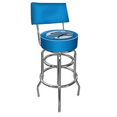 Orlando Magic Padded Swivel Bar Stool with Back