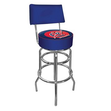 Washington Wizards Padded Swivel Bar Stool with Back
