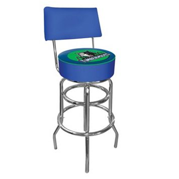 Minnesota Timberwolves Padded Swivel Bar Stool with Back