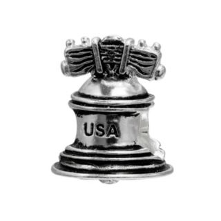 Individuality Beads Sterling Silver Liberty Bell Bead