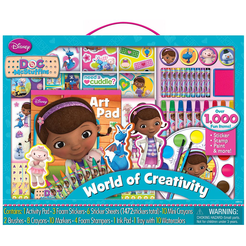 Disney Doc McStuffins Sticker Collection Set