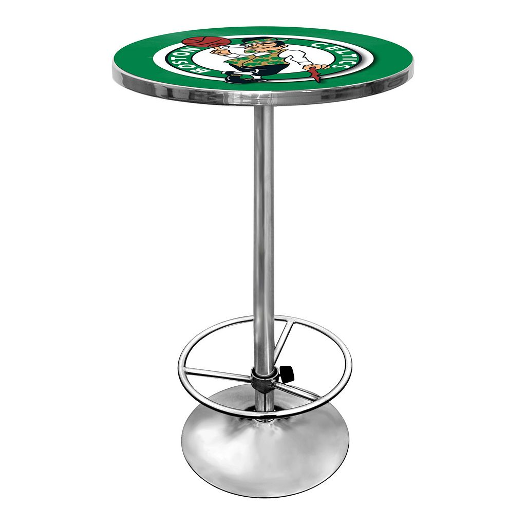 Boston Celtics Chrome Pub Table