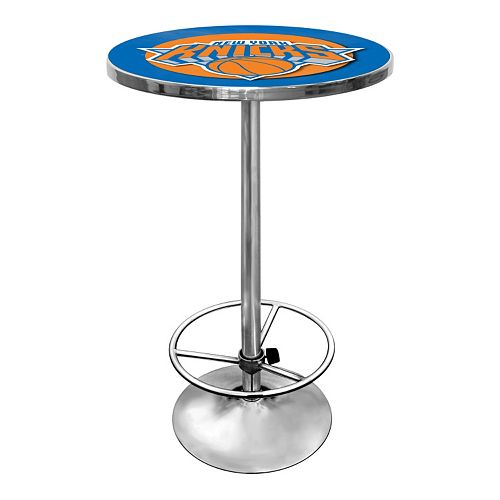 New York Knicks Chrome Pub Table