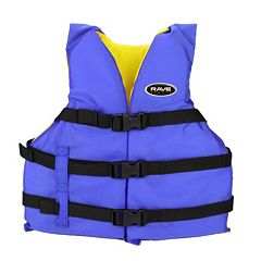 RAVE Sports Universal Nylon PFD Life Vest - Adult