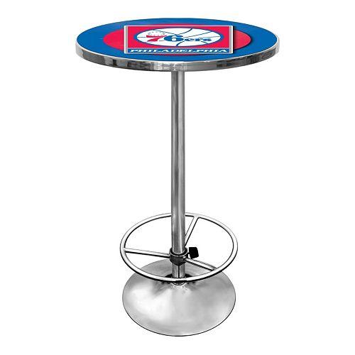 Philadelphia 76ers Chrome Pub Table