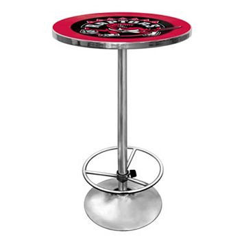 Toronto Raptors Chrome Pub Table