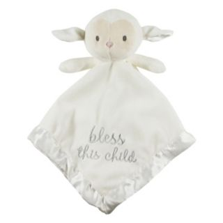 Stepping Stones '' Bless This Child'' Lamb Security Blanket