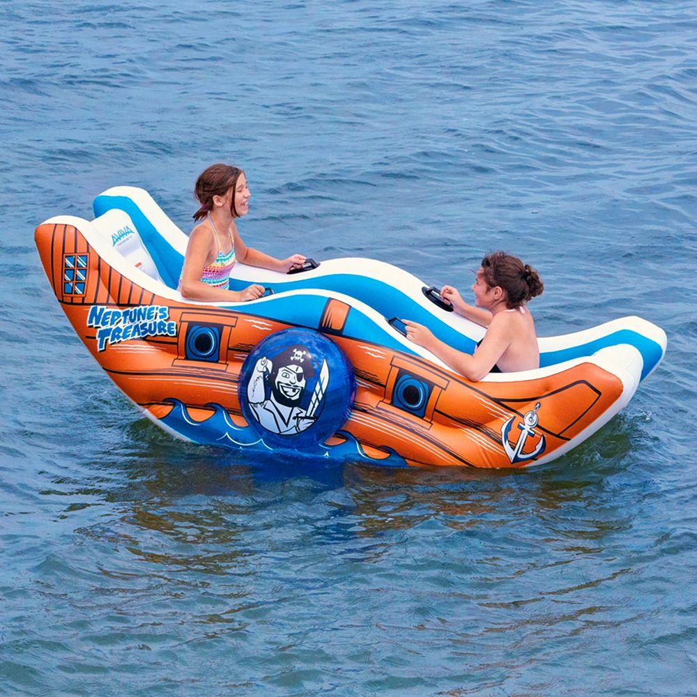 Aviva Neptune's Treasure Inflatable Water Float