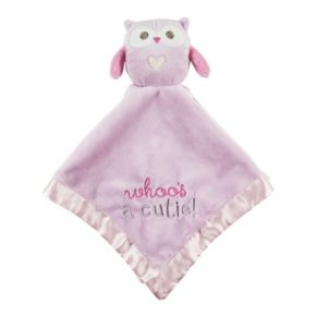 Stepping Stones '' Whoo's A Cutie'' Owl Security Blanket
