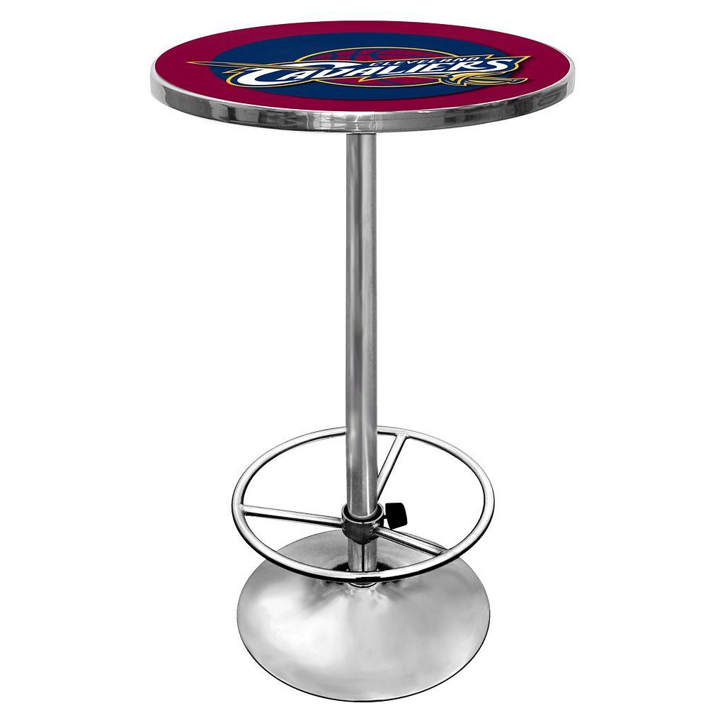 Cleveland Cavaliers Chrome Pub Table