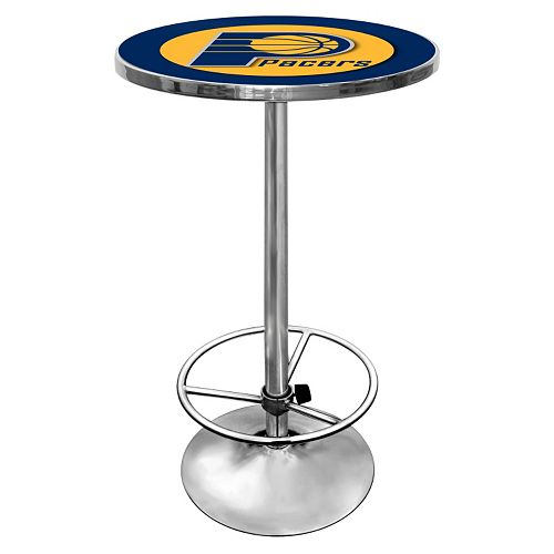 Indiana Pacers Chrome Pub Table