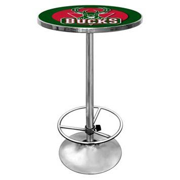 Milwaukee Bucks Chrome Pub Table